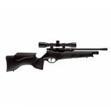 BSA Ultra SE Single Shot PCP Air Rifle - Black Tactical